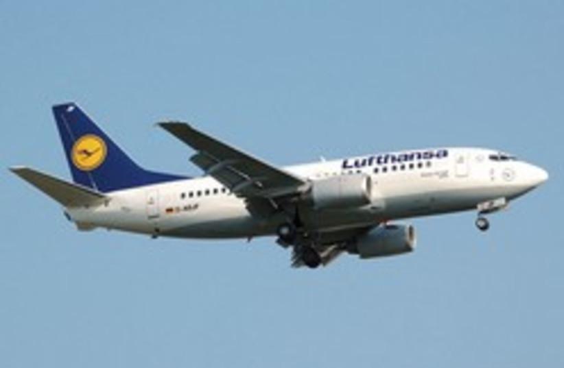 A Lufthansa 737 (illustrative) (photo credit: Courtesy)