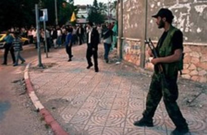 hamas security force 224 (photo credit: AP [file])