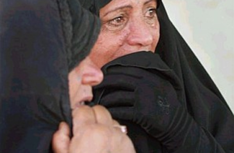 iraqi women 298.88 (photo credit: AP)