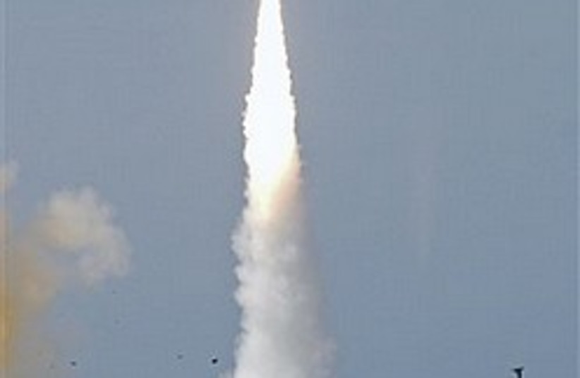 Arrow 2 missile 248.88 (photo credit: AP [file])