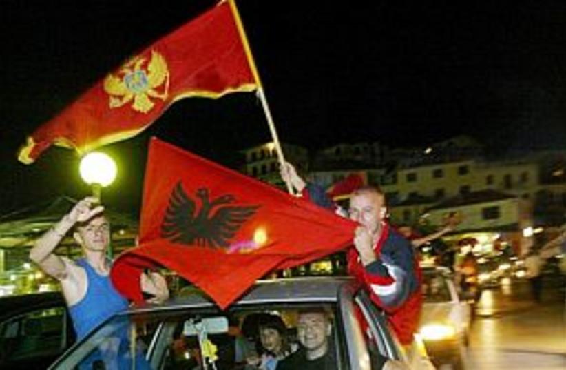 montenegro indepen 298 (photo credit: AP)