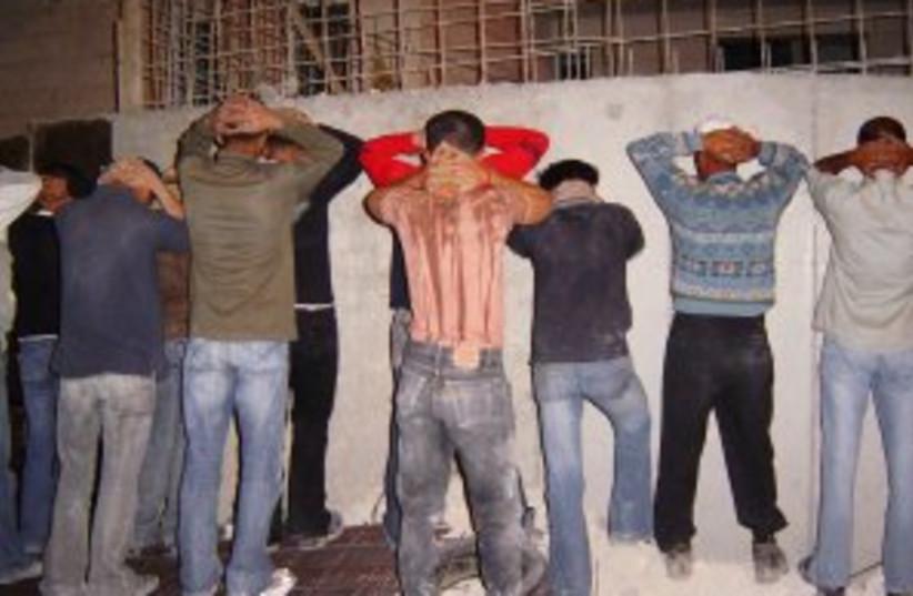 illegal pal workers (photo credit: Rafael D. Frankel)