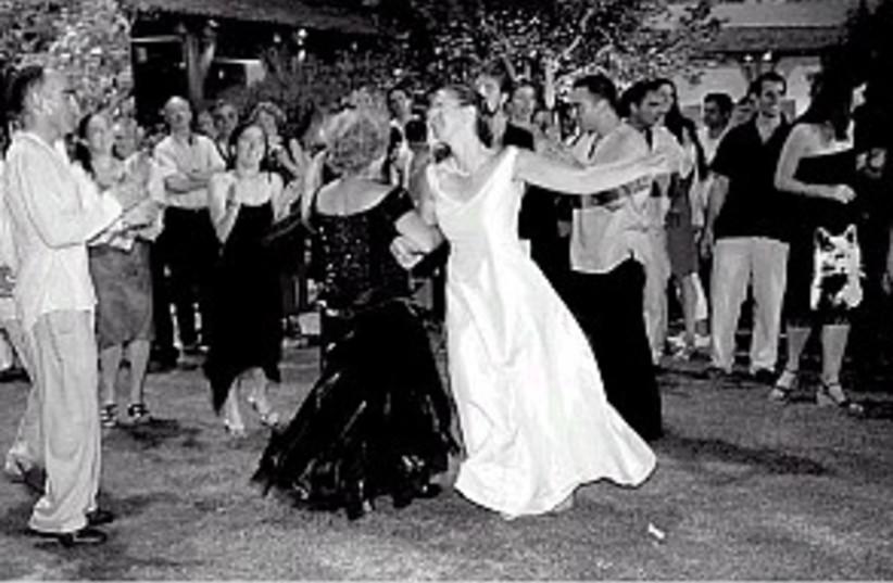 dancing bride 298.88 (photo credit: Ariel Jerozolimski)