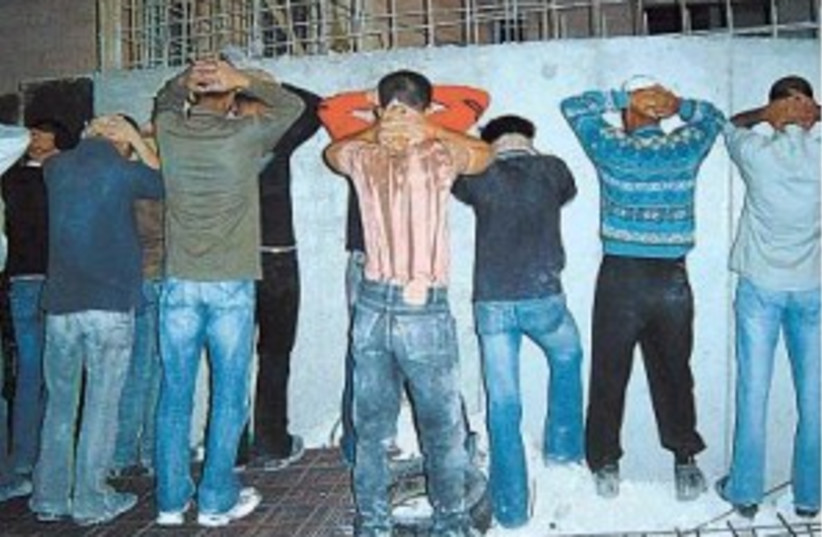 Illegal Palestinians (photo credit: Rafael D. Frankel)