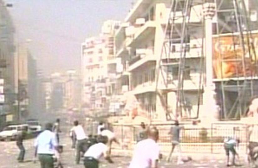 Ramallah clashes 298.88 (photo credit: CNN)