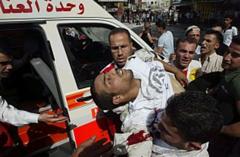 Wound Palestinian 298.88 (photo credit: Ahmad Gharabli)