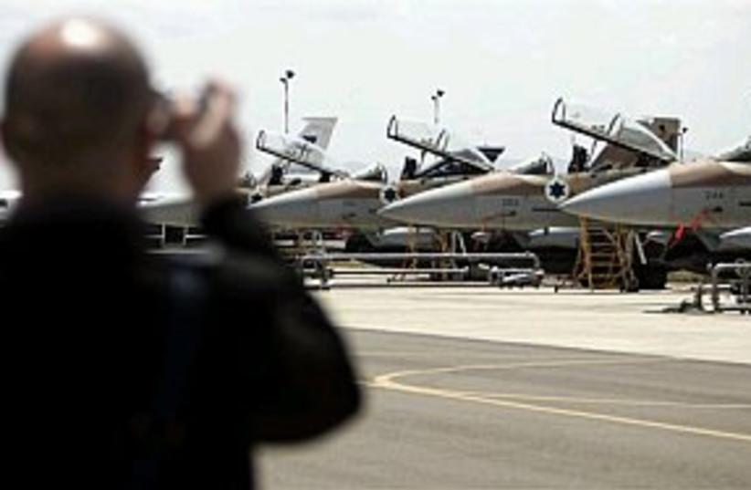 iaf jets lined up real n (photo credit: AP [file])