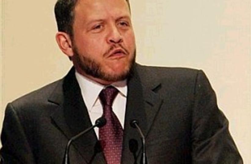 king abdullah (photo credit: AP)