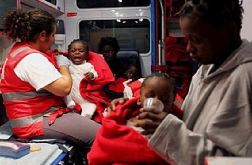 african immigrants 298.8 (photo credit: AP)