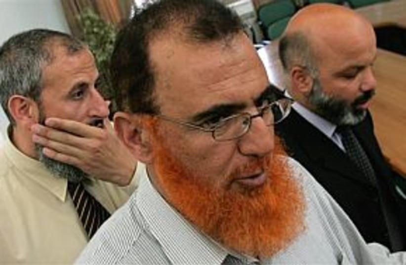 abu tir and hamas MPs298 (photo credit: AP)