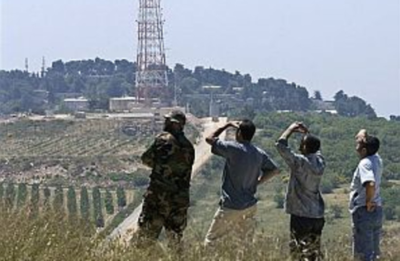 watching iaf hizbullah (photo credit: AP [file])