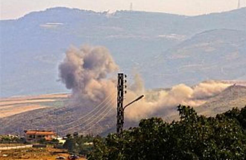 iaf smoke lebanon 298 ap (photo credit: AP [file])
