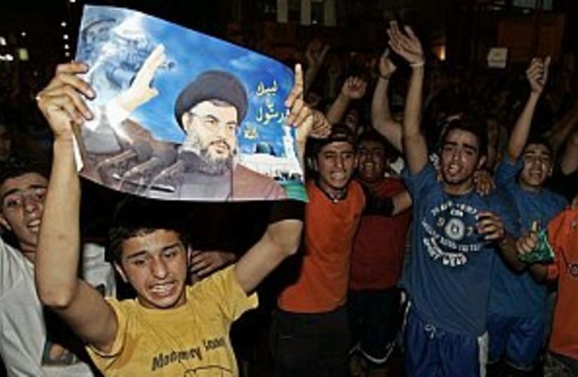 hizbullah riot 298 88 (photo credit: AP)