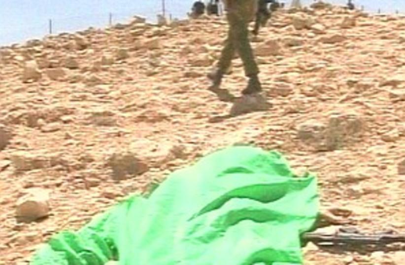 egypt border shooting (photo credit: Channel 10)