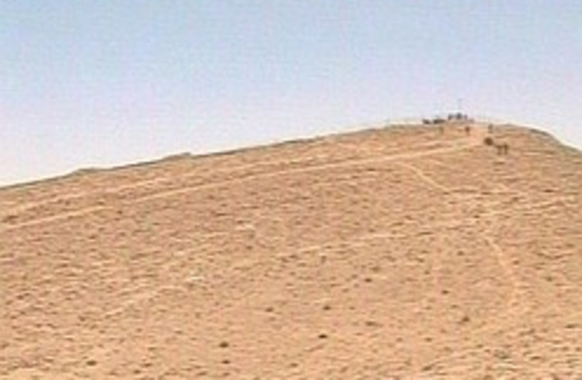 IDF lookout Egypt border (photo credit: Channel 10)