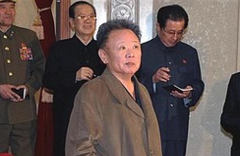 kim jong il looks like shit 248.88 (photo credit: AP)