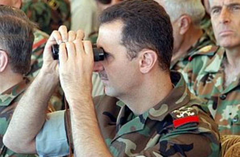 assad in uniform 298 ap (photo credit: AP [file])