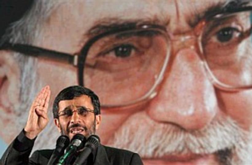 ahmadinejad, ayatollah (photo credit: AP)