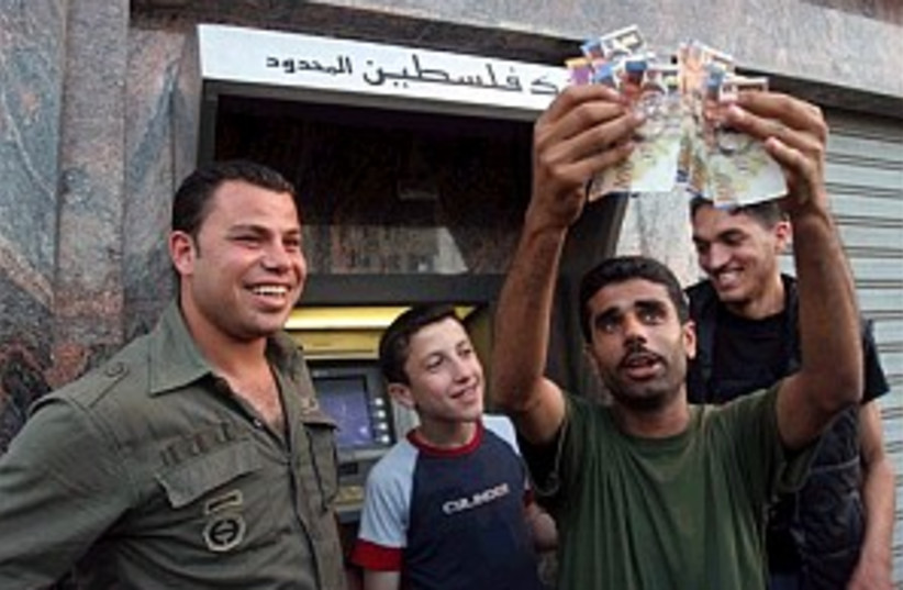 pals with shekels, happy (photo credit: AP [file])