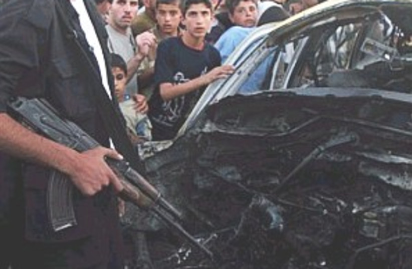 gaza air strike 298 (photo credit: AP [file])
