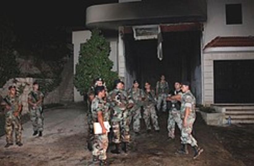 Hizbullah arms cache blast 248.88 (photo credit: )