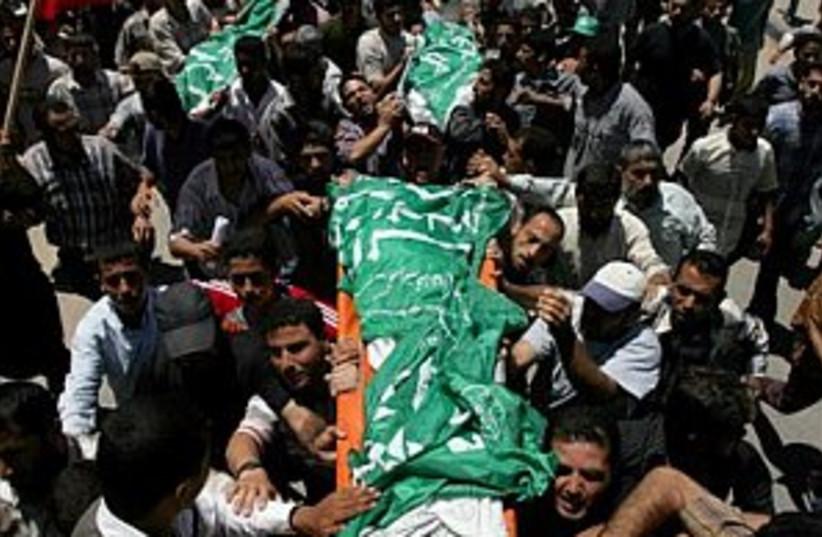Palest funeral 298.88 (photo credit: AP)