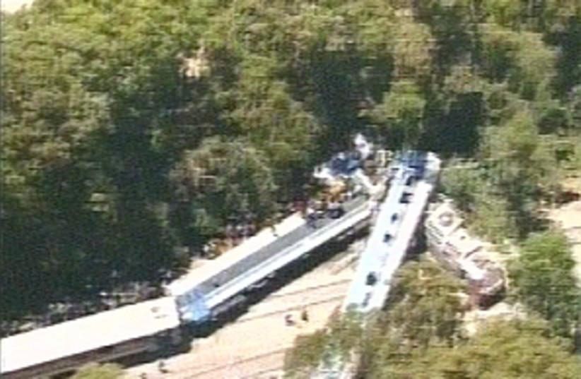 train crash air 298.88 (photo credit: Channel 2)