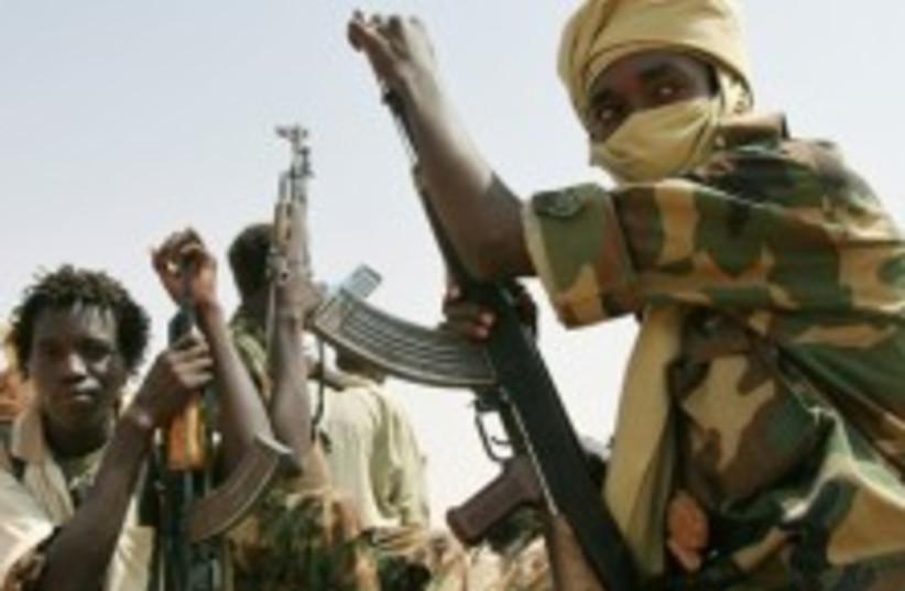 Darfur gunmen 224 ap (photo credit: AP [)