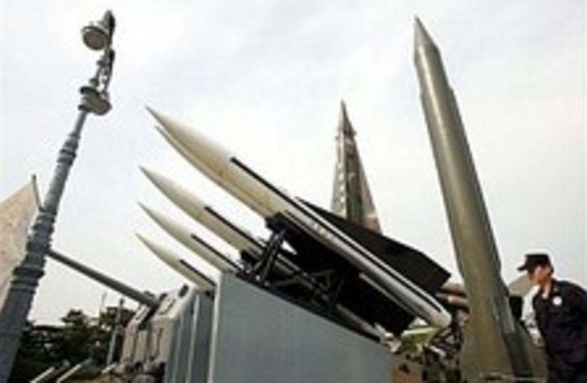 n korean missiles 224.88 (photo credit: AP [file])