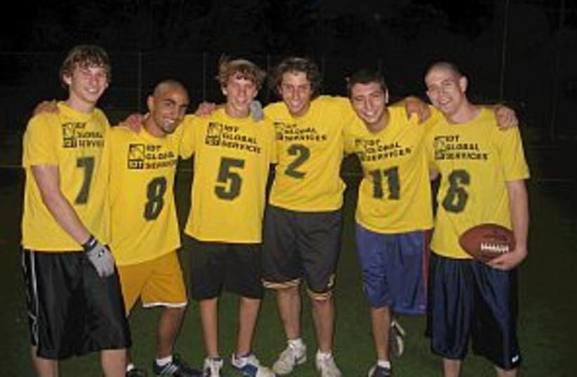 idt football team 298.88 (photo credit: American Football in Israel/courtesy)