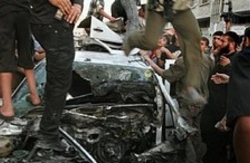 gaza airstrike 224.88 (photo credit: Associated Press)