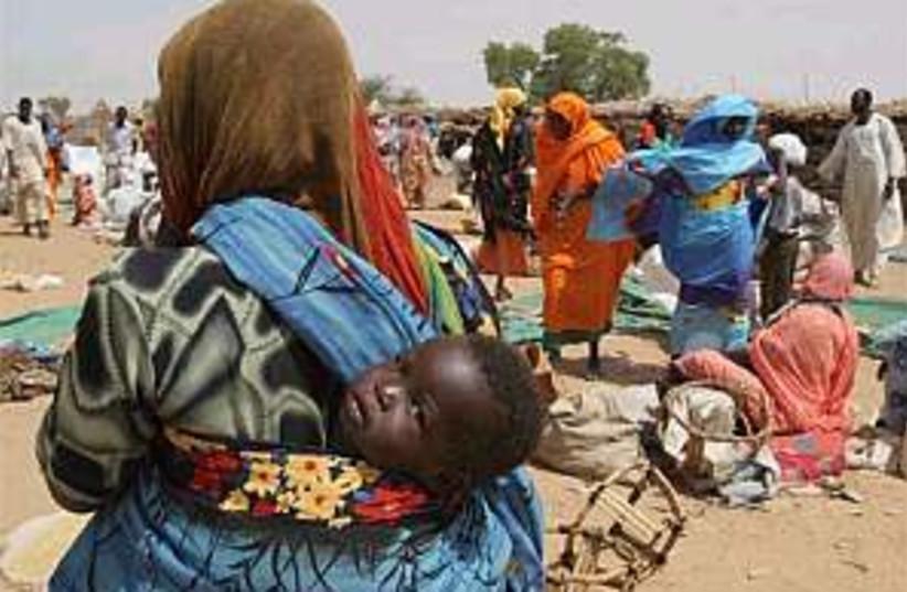 sudan darfur market 88.2 (photo credit: AP)