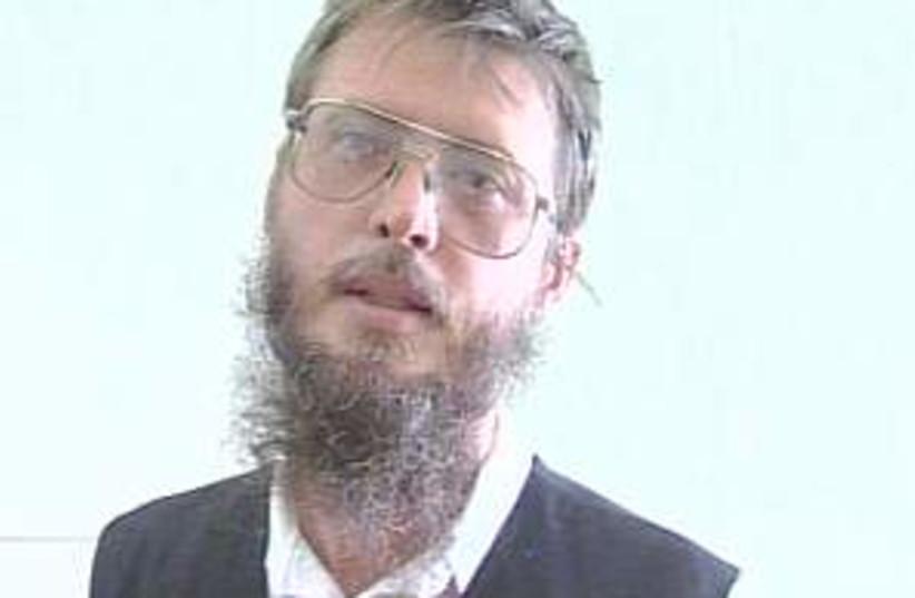 Jewish terrorist 298.88 (photo credit: Channel 10)