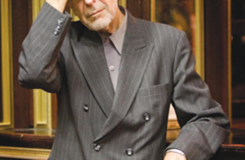 Leonard Cohen 248.88 (photo credit: )