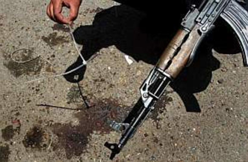 gun  (photo credit: AP [file])
