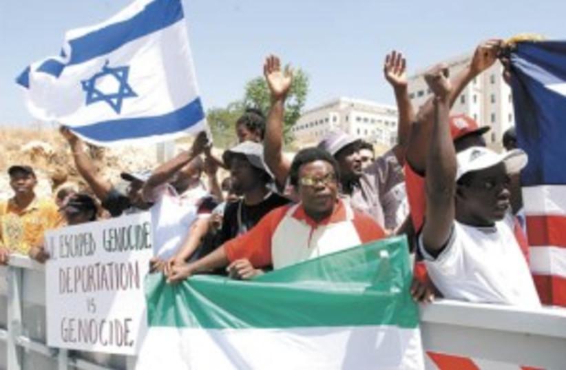 Sudanese refugees 298 (photo credit: Ariel Jerozolimski)