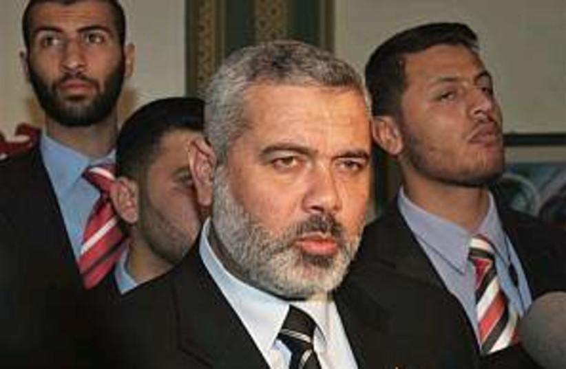 Haniyeh 298.88 (photo credit: AP [file])
