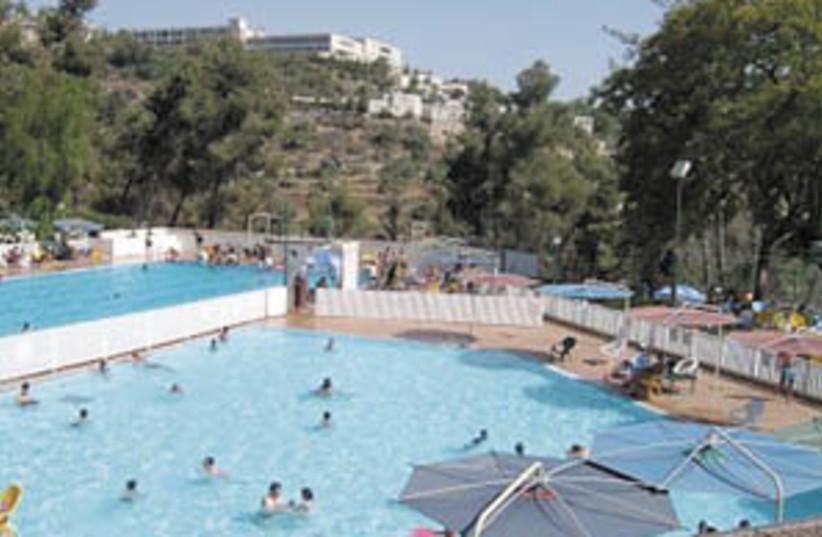 zippori pool  (photo credit: Courtesy)