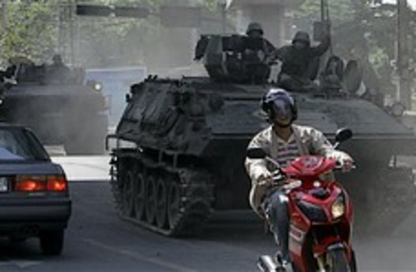 thailand emergency situation 248.88 (photo credit: AP)