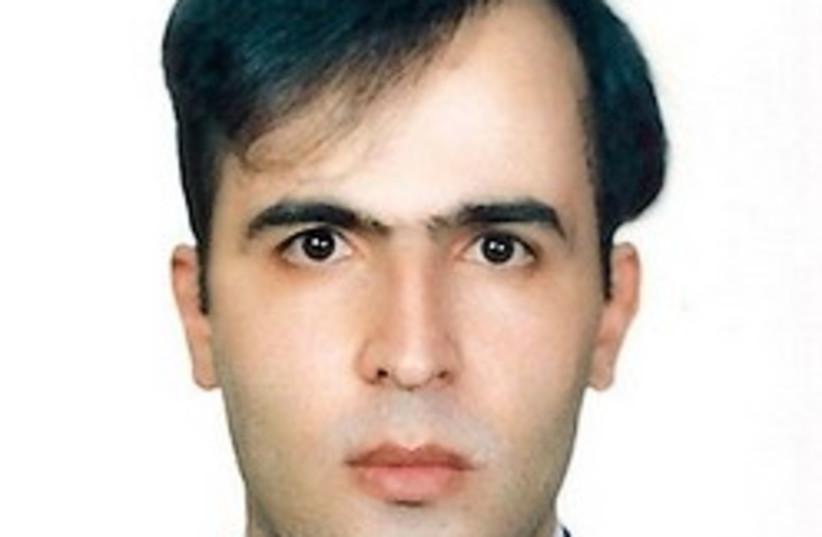 Omidreza Mirsayafi 248.88 ap (photo credit: AP)