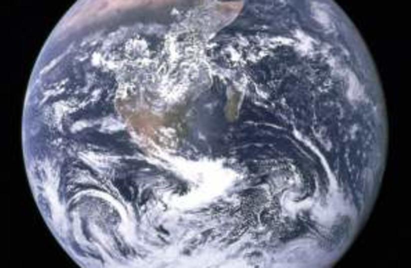 earth 298.88 (photo credit: NASA)