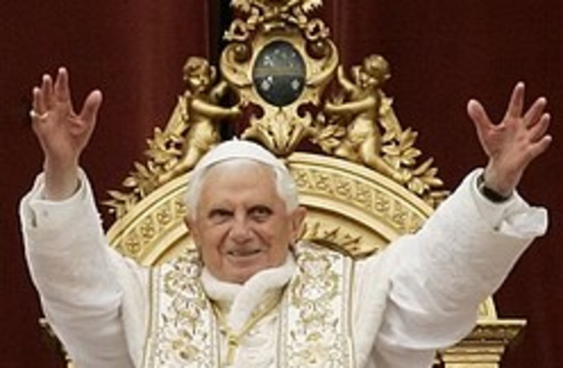 pope benedict easter 248 88 ap (photo credit: AP)