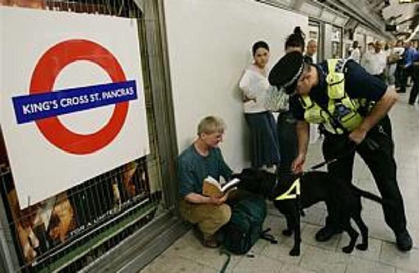 london underground 298.8 (photo credit: AP)