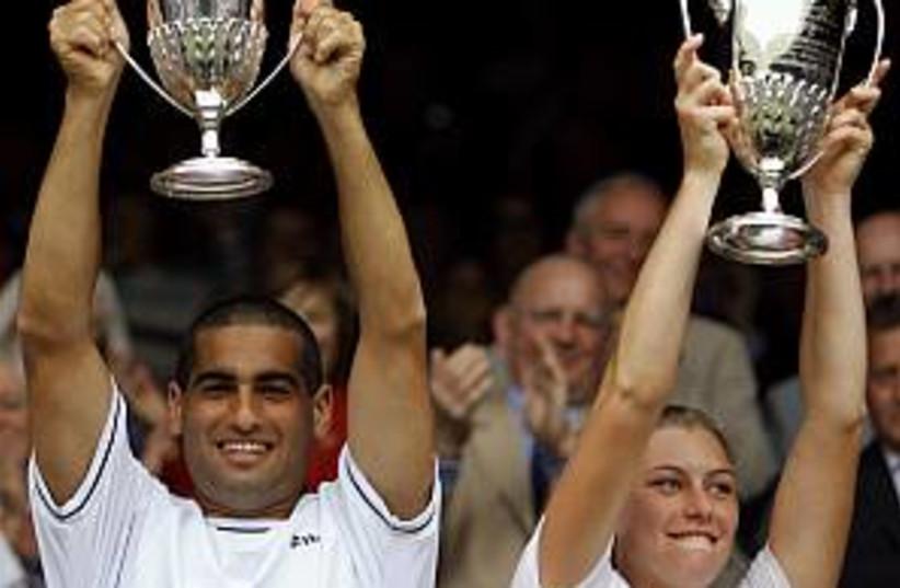 Ram and Zvonareva 298.88 (photo credit: AP)