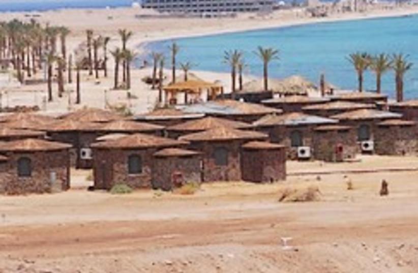 Sinai huts 248.88 (photo credit: Ariel Jerozolimski  (file))