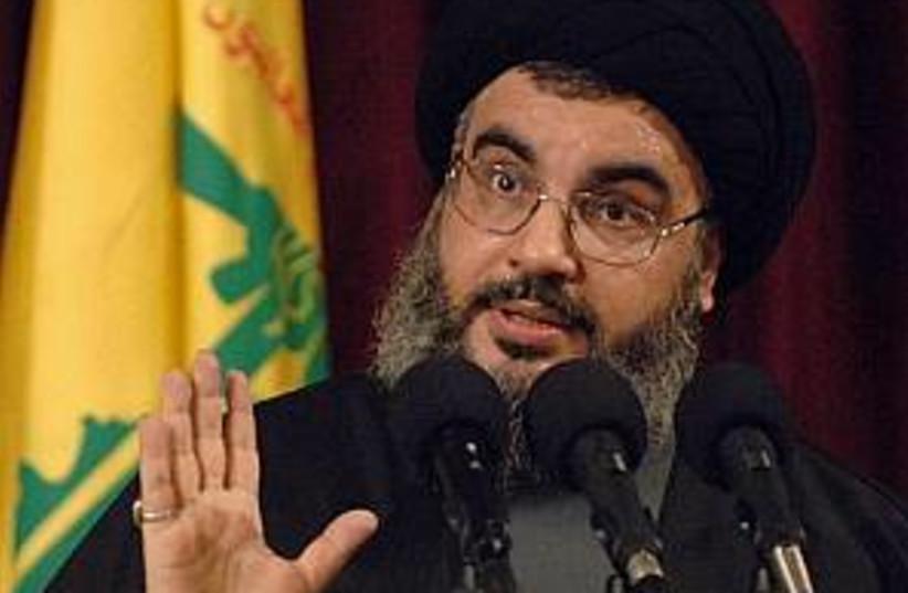 nasrallah good 298.88 ap (photo credit: AP [file])