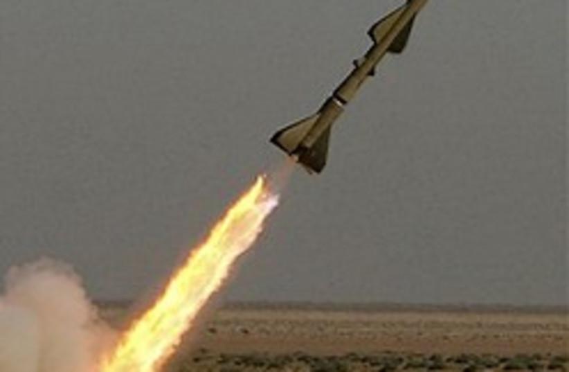 iran tondar missile launch 248.88 ap (photo credit: AP)