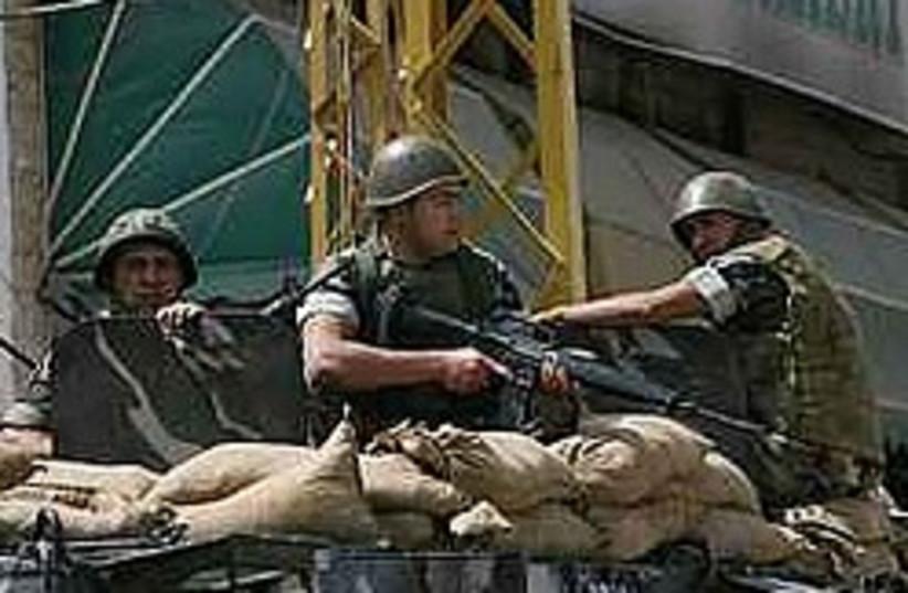 lebanese soldiers 248 88 ap (photo credit: AP [file])