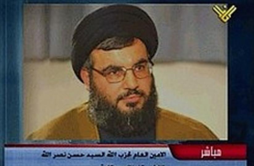 nasrallah al-manar 248 88 (photo credit: AP [file])
