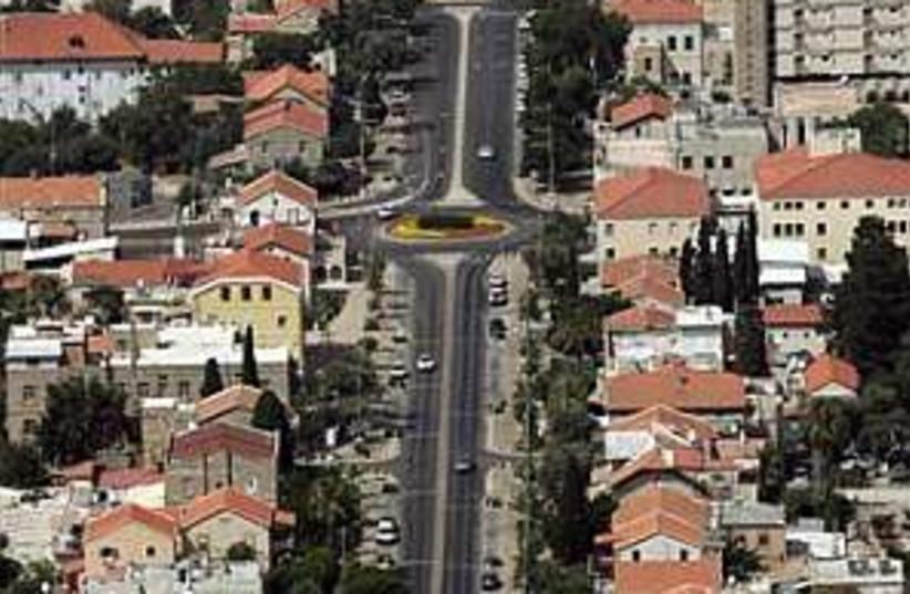 haifa street desterded (photo credit: AP)